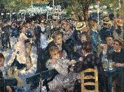 Pierre-Auguste Renoir Dance at Le Moulin de la Galette oil painting picture wholesale